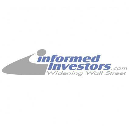 Informed investors