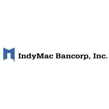 free vector Indymac bancorp