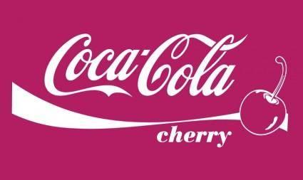 free vector Coca Cola CHERRY Vector .AI