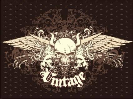 free vector Free Vintage Emblem Vector