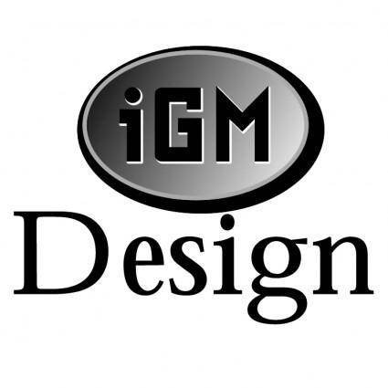 free vector Igm design