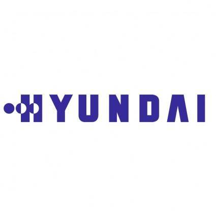 free vector Hyundai electronics industries