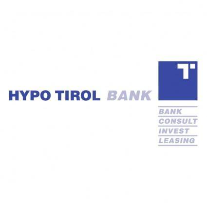 free vector Hypo tirol bank