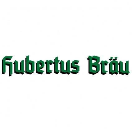 free vector Hubertus brau