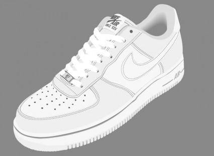 free vector Nike Air Shoes Vector