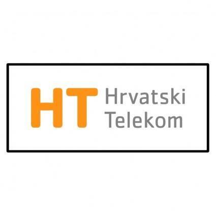 free vector Hrvatski telekom ht