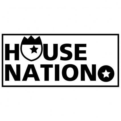 free vector House nation