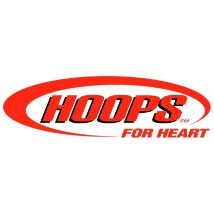 free vector Hoops for heart