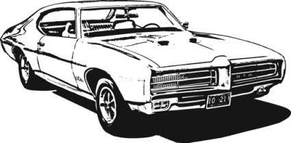 free vector Free 1969 GTO