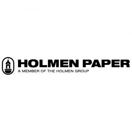 free vector Holmen paper
