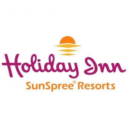 free vector Holiday inn sunspree resorts