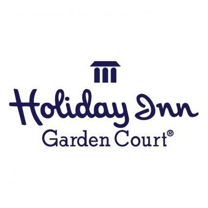 free vector Holiday inn garden court