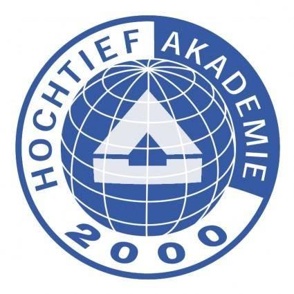 free vector Hochtief akademie