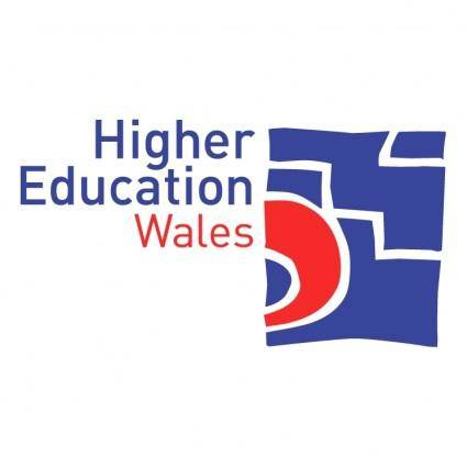 free vector Higher education wales