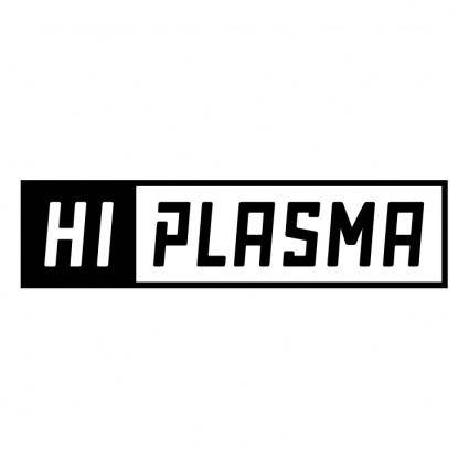 free vector Hi plasma