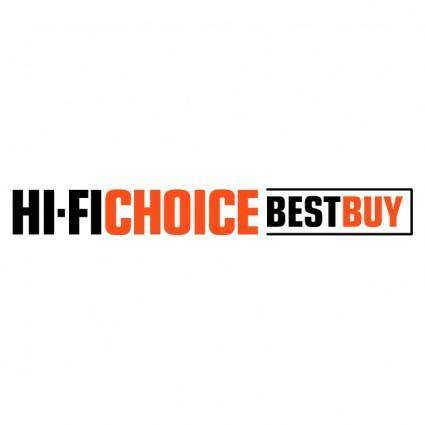 free vector Hi fi choice