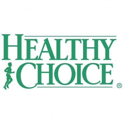 free vector Healthy choice