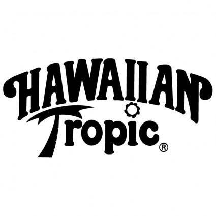 free vector Hawaiian tropic
