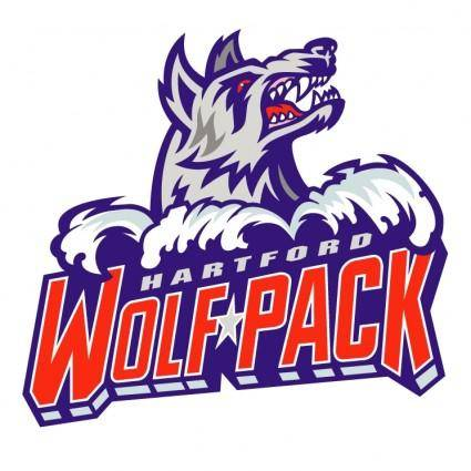 free vector Hartford wolf pack