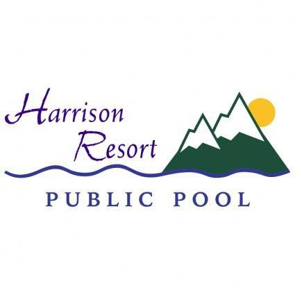 free vector Harrison resort