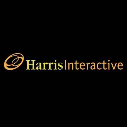 free vector Harris interactive