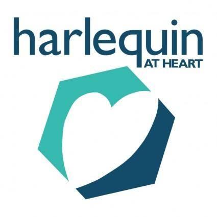 free vector Harlequin at heart