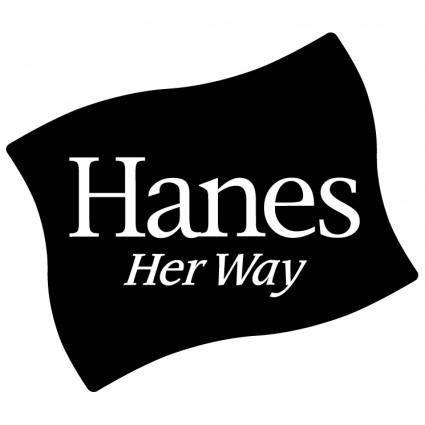 Hanes her way