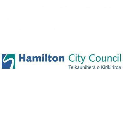 free vector Hamilton city council