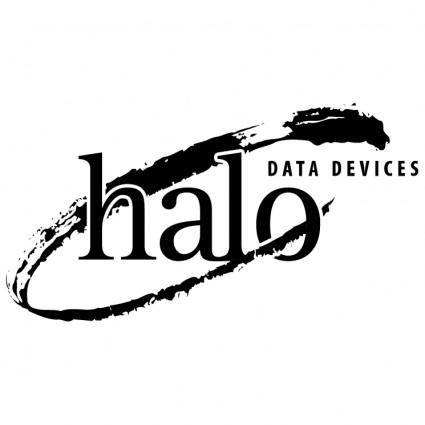 free vector Halo data devices