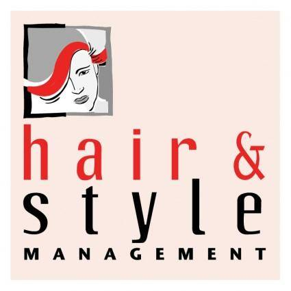 free vector Hair style management