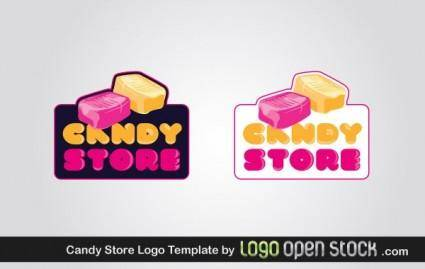 free vector Candy Store Logo Template