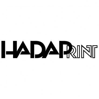 free vector Hadaprint