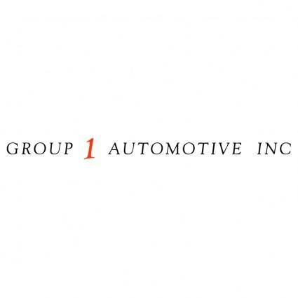 Group 1 automotive