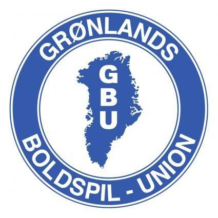 free vector Gronlands boldspil union