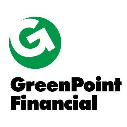 free vector Greenpoint financial