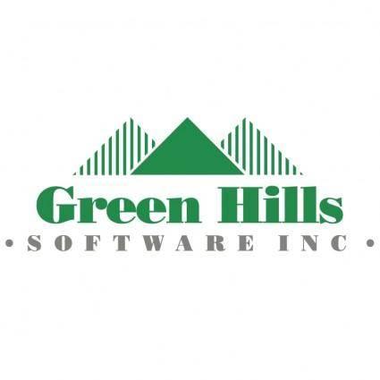 free vector Green hills software