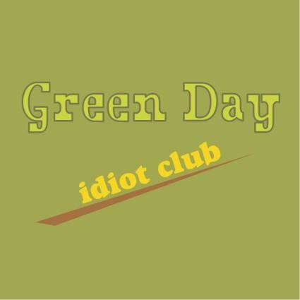 free vector Green day