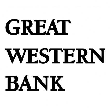 free vector Great western bank 0