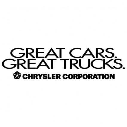 Great cars great trucks