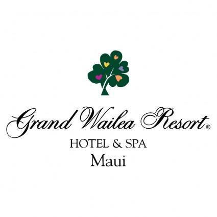 free vector Grand wailea resort