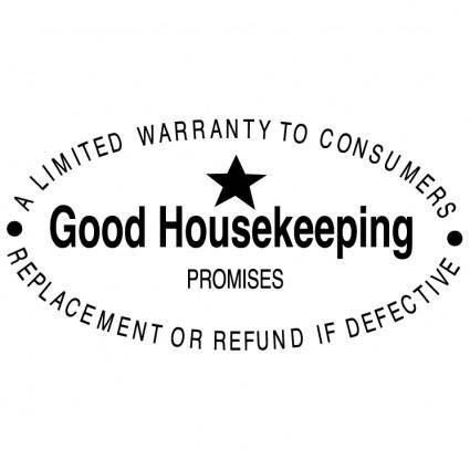 Good housekeeping promises 0
