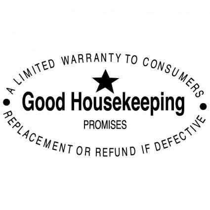 free vector Good housekeeping promises 0