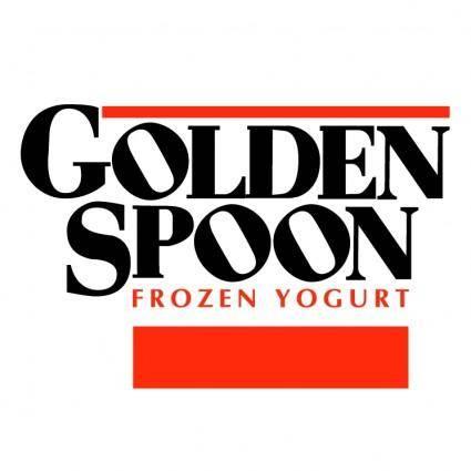 free vector Golden spoon
