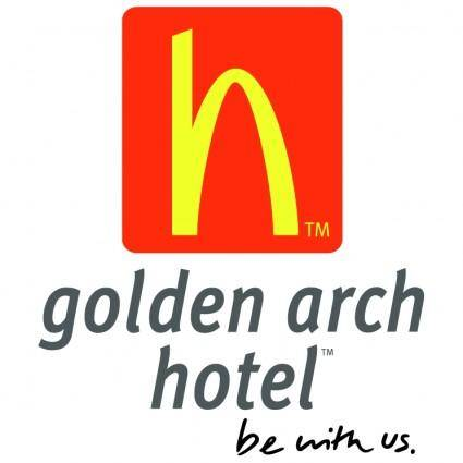free vector Golden arch hotel