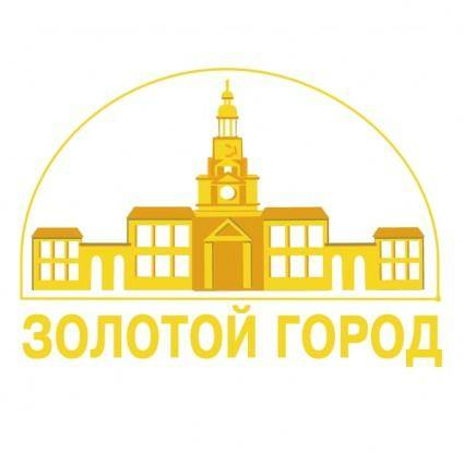 free vector Gold town