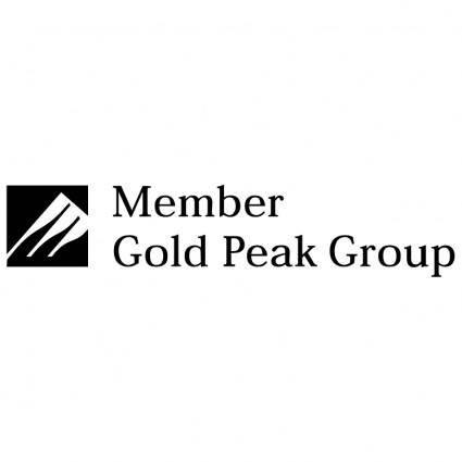 Gold peak group
