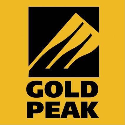 free vector Gold peak group 0