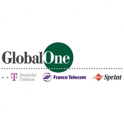 free vector Globalone 1