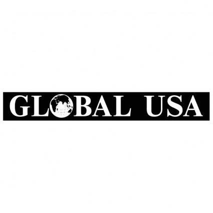 free vector Global usa