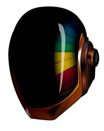 free vector Helmet Daft Punk Vector